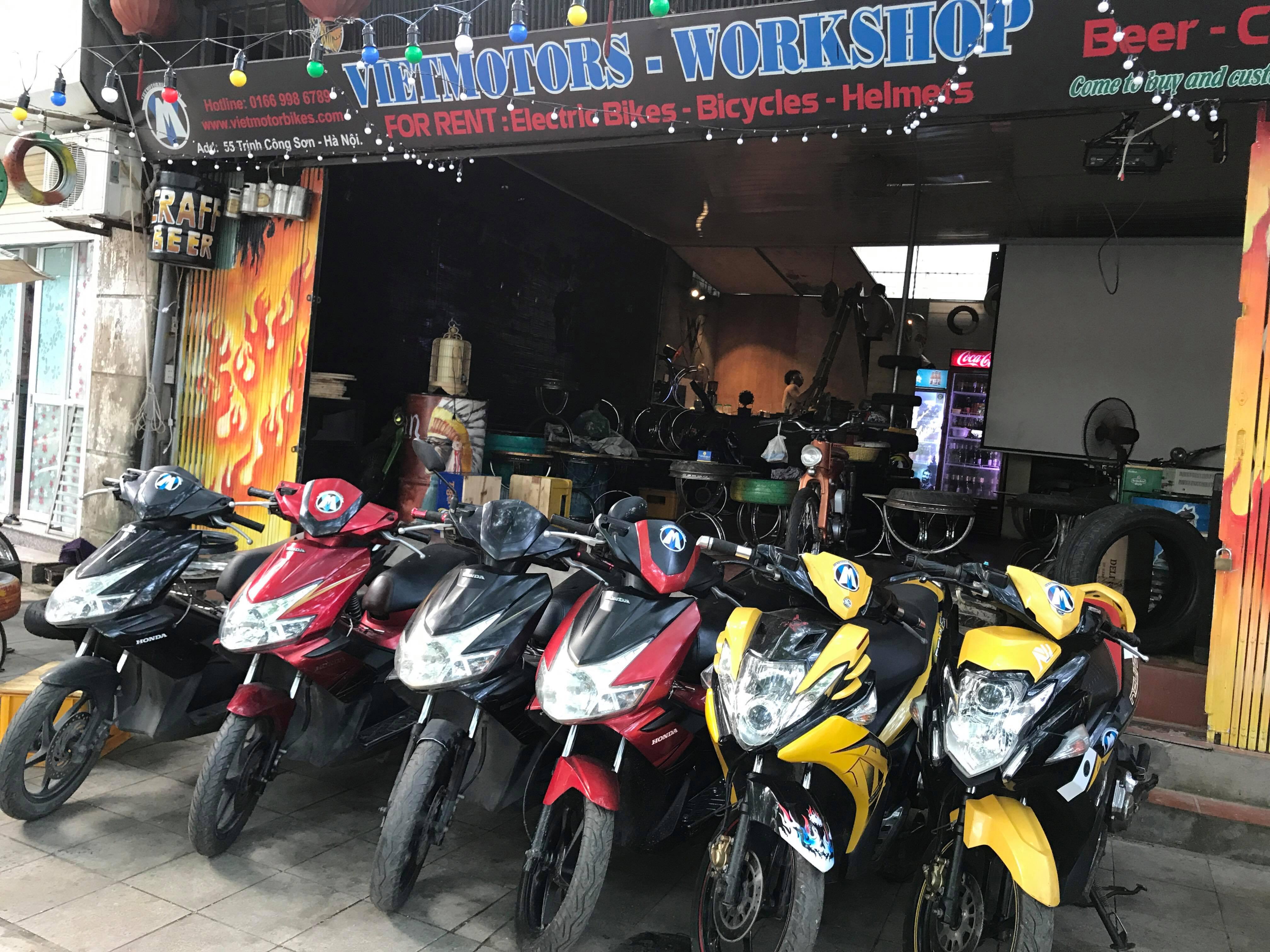 Vietmotorbikes Honda Air Blade And Yamaha Nouvo Rc For Rent At Nuvo 25 Sep